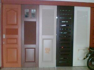 Berbagai model pintu besi