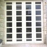 Pintu besi wina isian kaca 4daun tikung 1arah _Stamford citraland project_ minat PM...