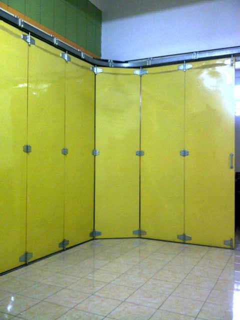 Pintu penyekat ruangan 12 daun tikung 2 arah komponen Lucky GD _Hr ...